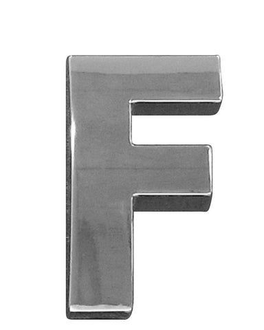 3D CHROME - 603D (Letters A to Z) - 60mm
