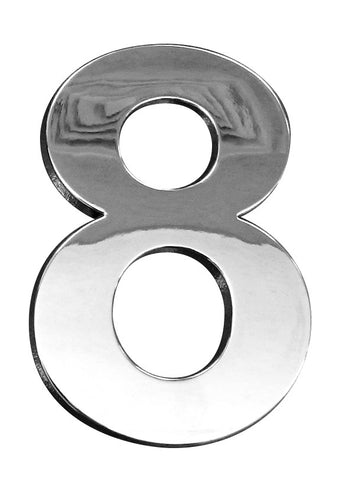 3D CHROME - 703D (Numbers 0 to 9) - 70mm