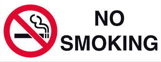 No Smoking - Markit Graphics