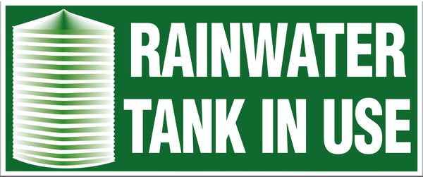 RAINWATER TANK IN USE