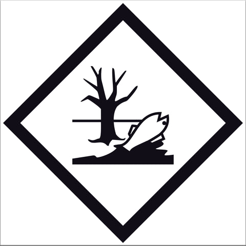 Marine Pollutant Labels - 10 Pack