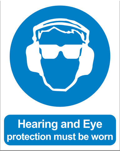 Hearing and Eye Protection Must Be Worn - Markit Graphics