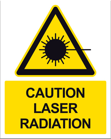 Caution Laser Radiation - Markit Graphics