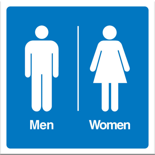 Men and Women Sign - Markit Graphics