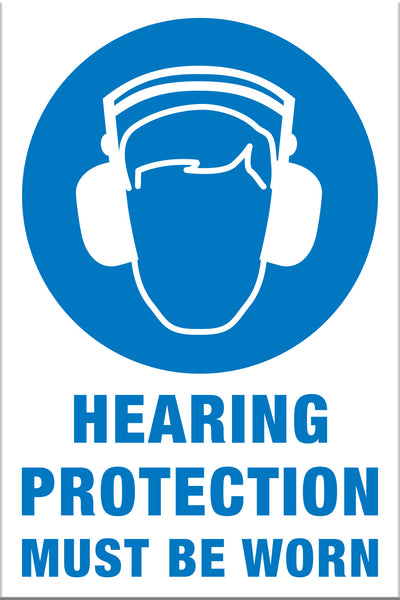 Hearing Protection Must Be Worn - Markit Graphics