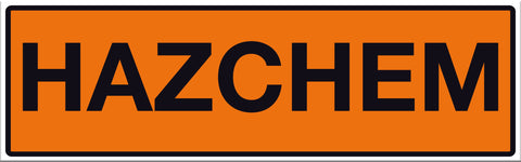 Hazchem Sign - Markit Graphics