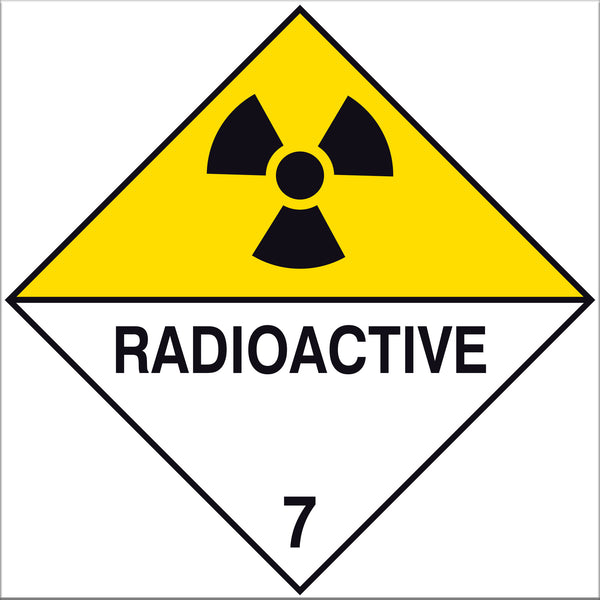 Radioactive Labels - 10 Pack