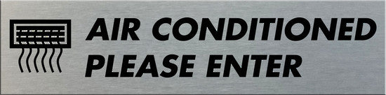 AIR CONDITIONED PLEASE ENTER - Markit Graphics