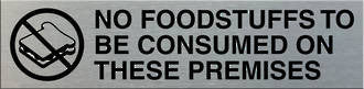 No Foodstuffs To Be Consumed On these Premises - Markit Graphics