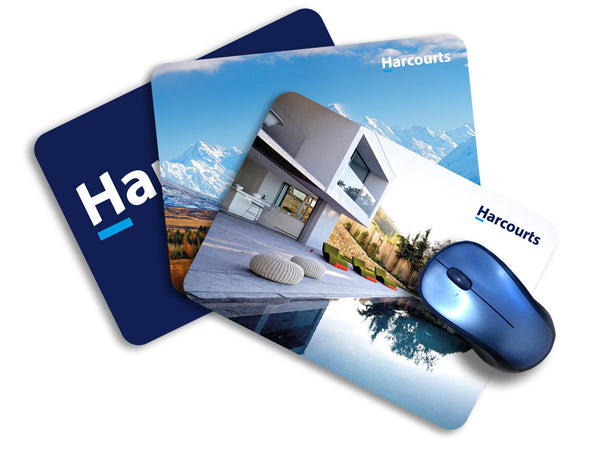 Harcourts Mouse Pads - 245mm x 179mm - Markit Graphics