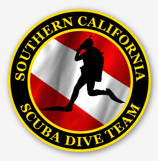 SCDiving Dive Team Logo Sticker