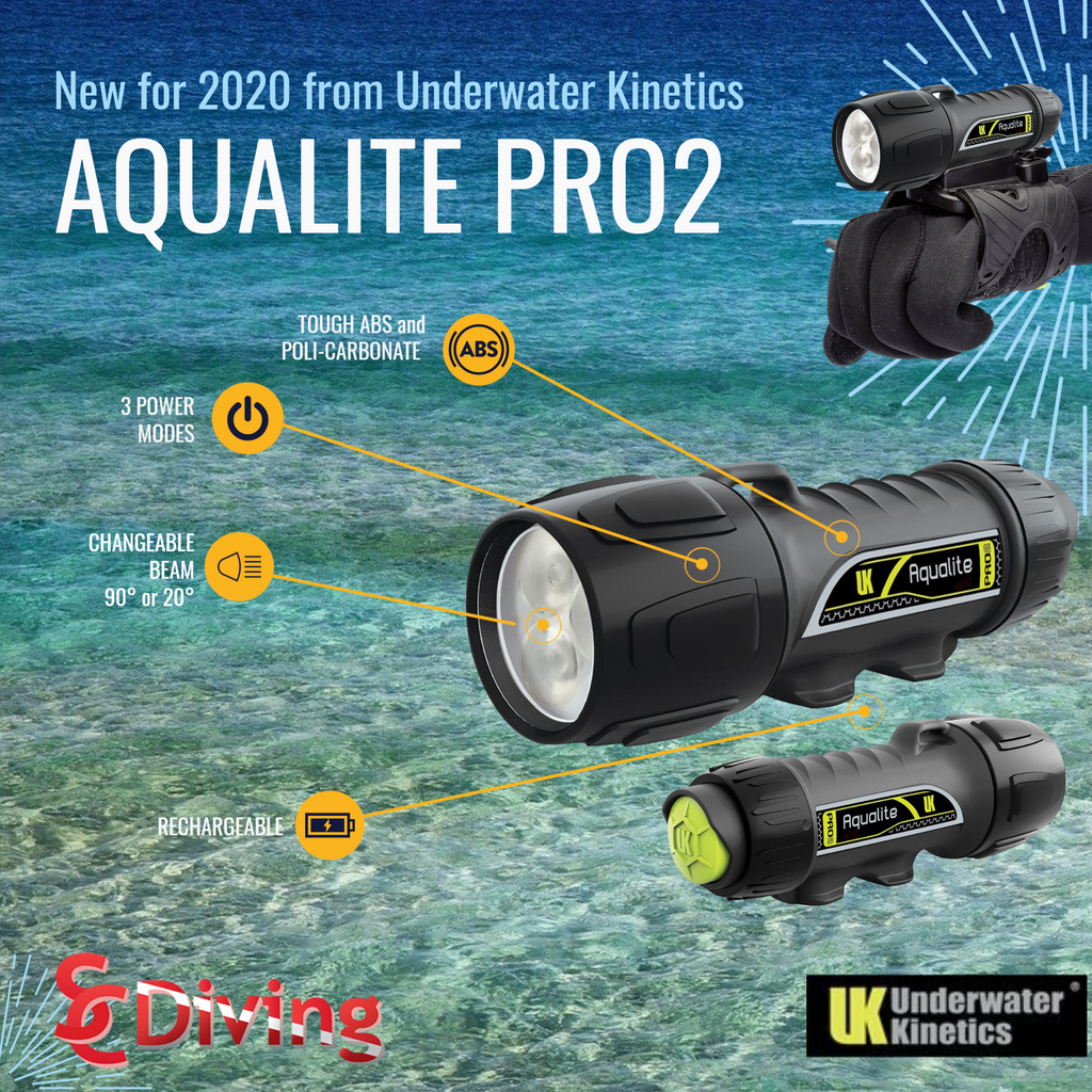 AQUALITE PRO2 by Underwater Kinetics