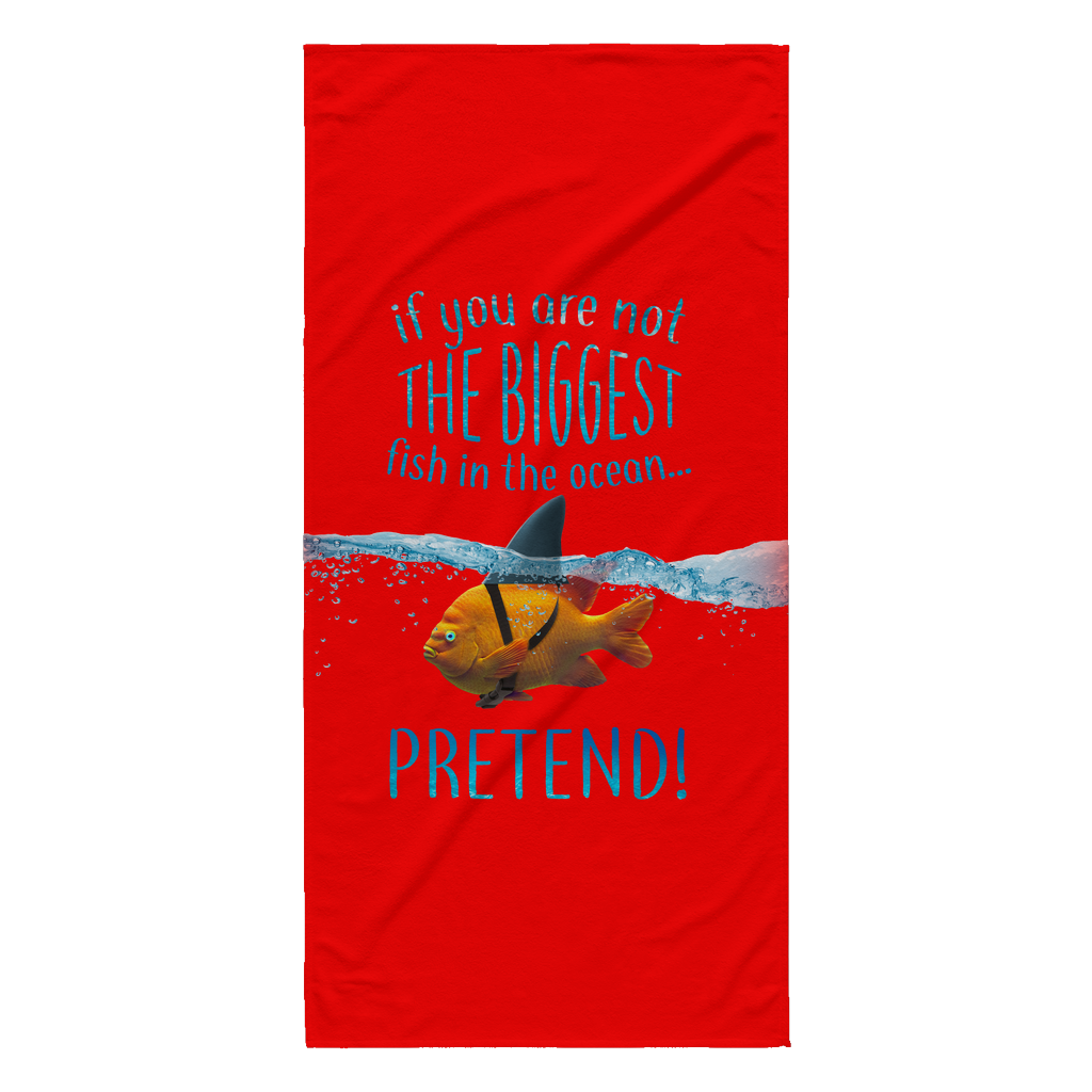 Scuba Steve's Tees - Beach Towel - Red