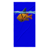 Scuba Steve's Tees - Beach Towel - Blue