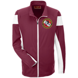 Team 365 Performance Colorblock Full Zip