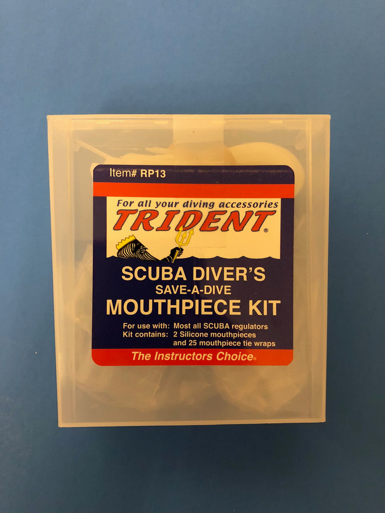 SAVE-A-DIVE MOUTHPIECE KIT WITH TIE STRAPS