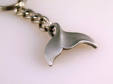 Whale's Tail Key Chain by Roland St. John
