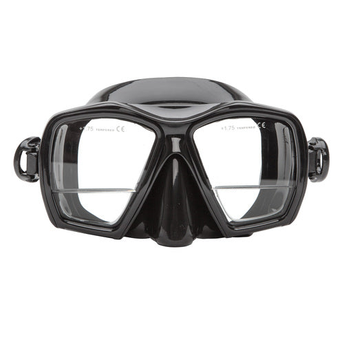 XSScuba Gauge Reader Down View Design Dive Mask