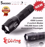 AloneFire Tactical Flashlight XML-T6