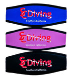 Mask Strap Cover - with SCDiving Logo