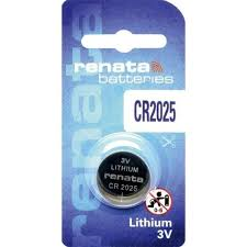 Renata CR2025 3v Coin Battery