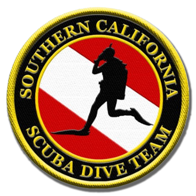 SCDiving Dive Team Logo Patch