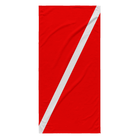 Beach Towel - Dive Flag