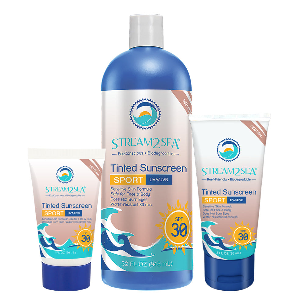 Stream2Sea - Tinted Sunscreen for Body - SPF 30
