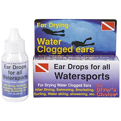 The Divers Choice Ear Drops for Drying Ears 1oz