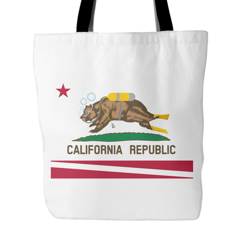 Tote Bag - California Diving