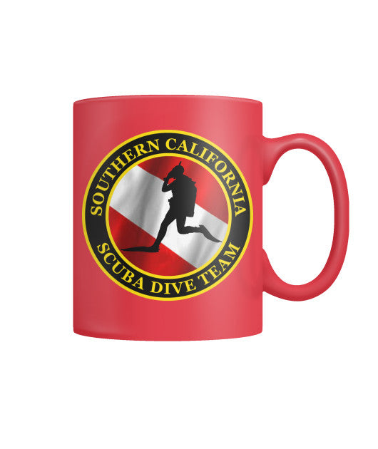 Red Dive Team Mug