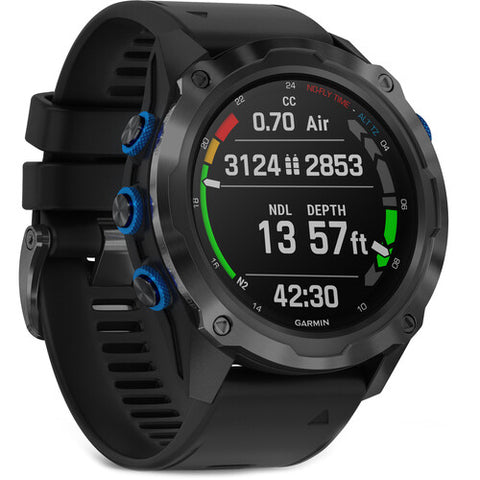 Garmin Descent Mk2i GPS Diving Smartwatch (Titanium Carbon Gray DLC)