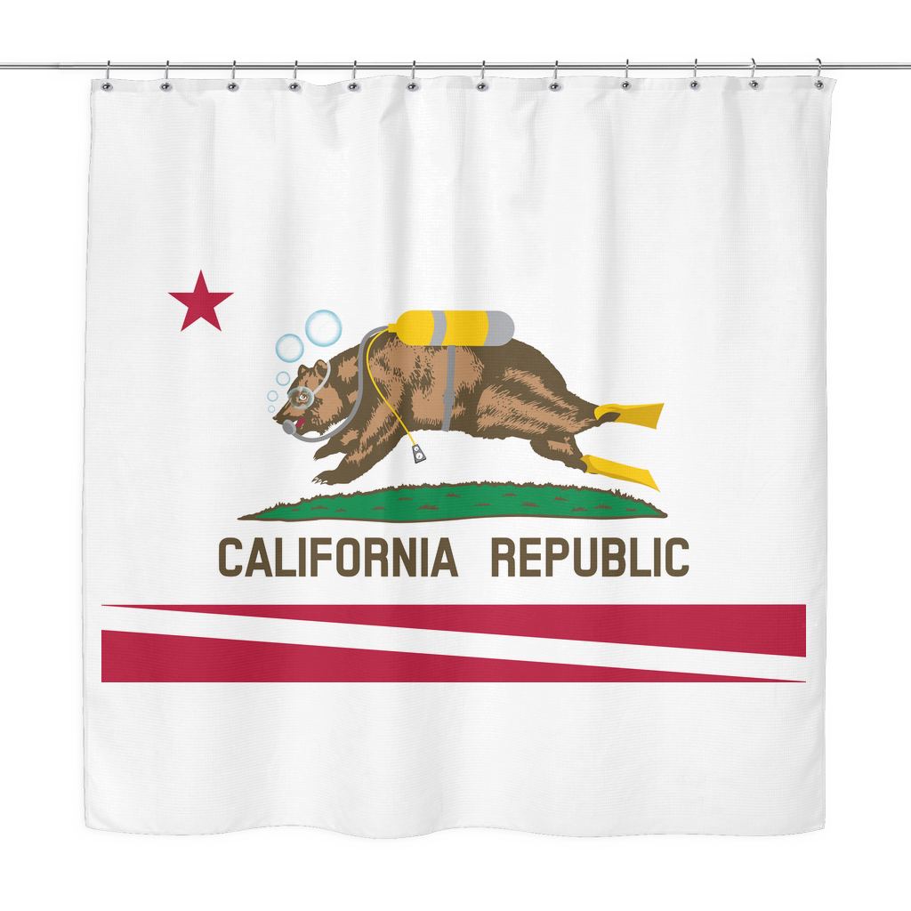 Shower Curtain - California Diving