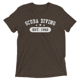 Scuba Diving Established 1942 Tee