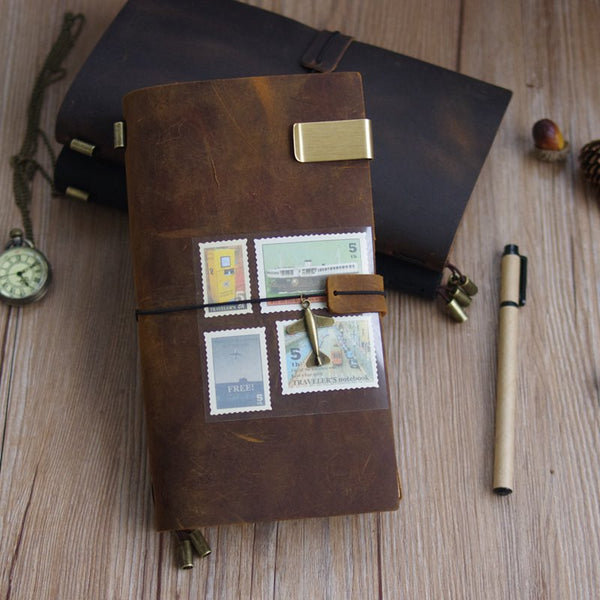 100% Genuine Leather Vintage Traveler's Journal