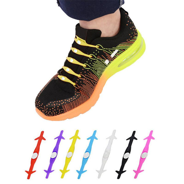 Elastic Silicone No Tie Shoelaces
