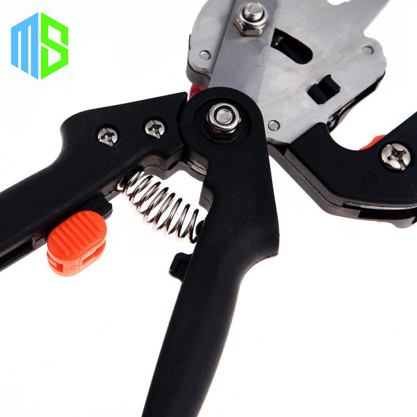 Black Bag Garden Fruit Tree Pro Pruning Shears Scissor Grafting cutting Tool +2 Blade garden tools set pruner Tree Cutting Tool