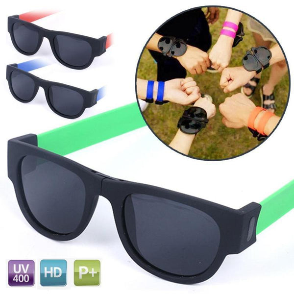 Folding Wrist Sunglasses - 60% OFF