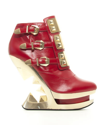 Hades Gleam Wedges - Red