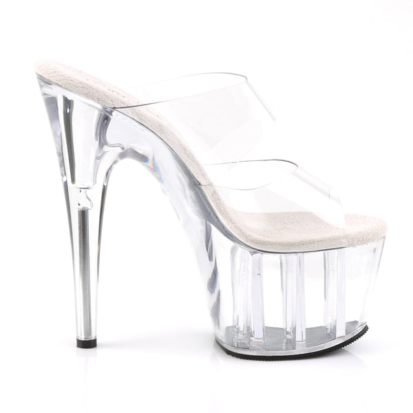 Pleaser - ADORE-702 - Clear/Clear