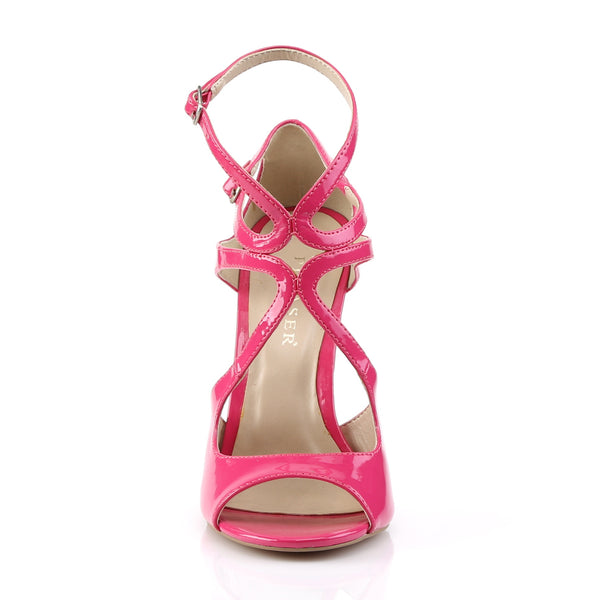 Pleaser - AMUSE-15 - Hot Pink Patent