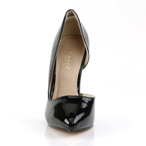 Pleaser - AMUSE-22 - Black Patent