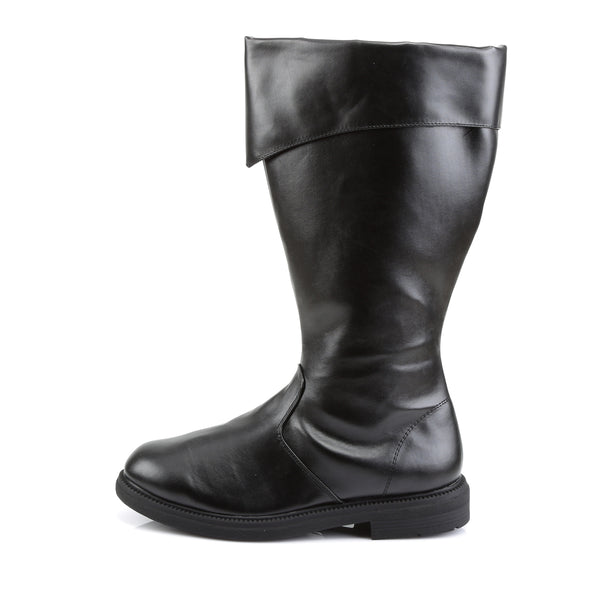 Funtasma - CAPTAIN-105 - Black Pu - Men's Boots