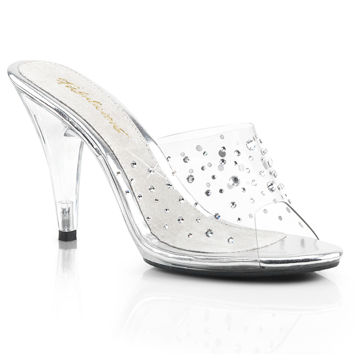 Fabulicious - CARESS-401RS - Clear/Clear - Shoes