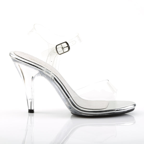 Fabulicious - CARESS-408 - Clear/Clear - Shoes