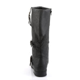 Funtasma - CARRIBEAN-299 - Black Distressed Pu - Men's Boots