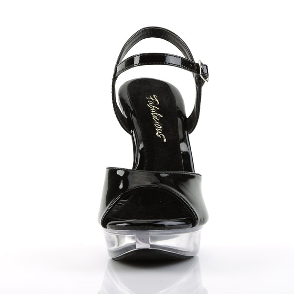 Fabulicious - COCKTAIL-509 - Black/Clear - Shoes