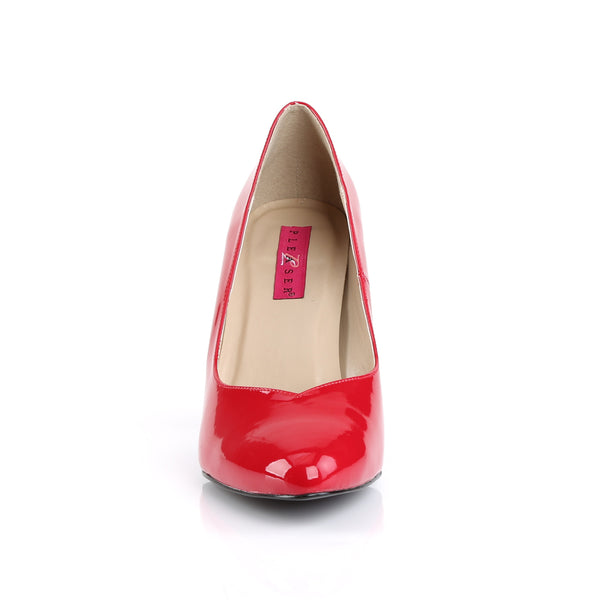 Pleaser Pink Label - DREAM-420 - Red Patent - Single Soles