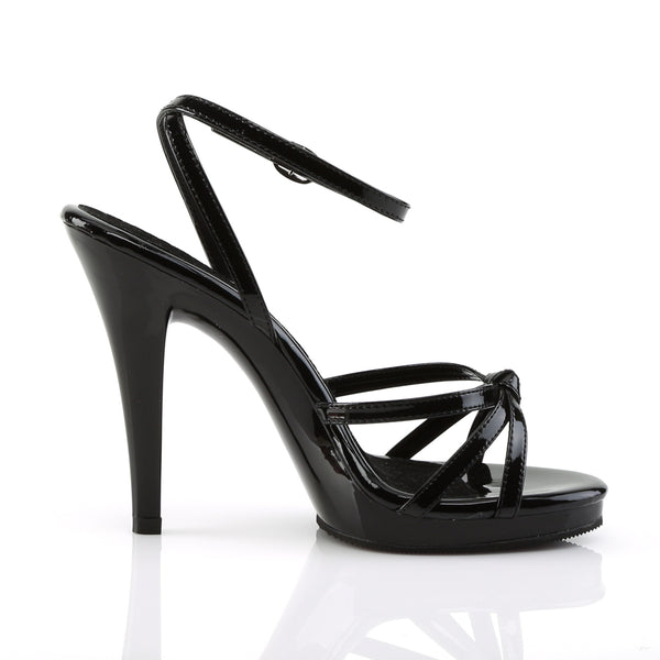 Fabulicious - FLAIR-436 - Black Patent/Black - Shoes