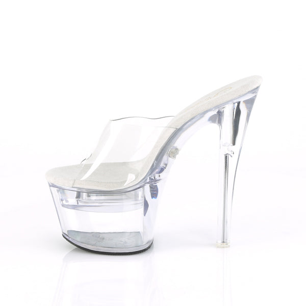 Pleaser - FLASHDANCE-701 - Clear/Clear